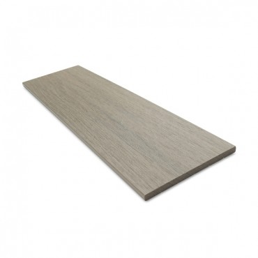 MC COMPOSITE PLUS FLAT DECK TRIM 150MM X 10MM LIGHT GREY
