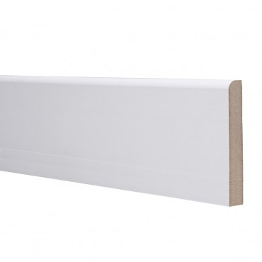 18 X 119 MDF SKIRTING 5.4M ROUND ONE EDGE