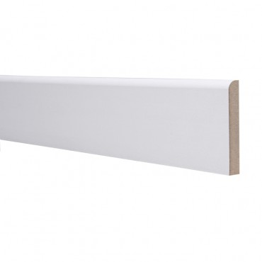 18 X 44 MDF SKIRTING 4.4M ROUNDED ONE EDGE