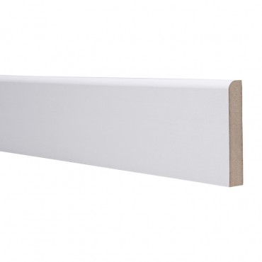 18 X 68 MDF SKIRTING 4.4M ROUND ONE EDGE