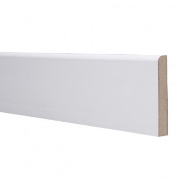 18 X 94 MDF SKIRTING 5.4M ROUND ONE EDGE