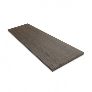 MC COMPOSITE PLUS FLAT DECK TRIM 150MM X 10MM MID BROWN