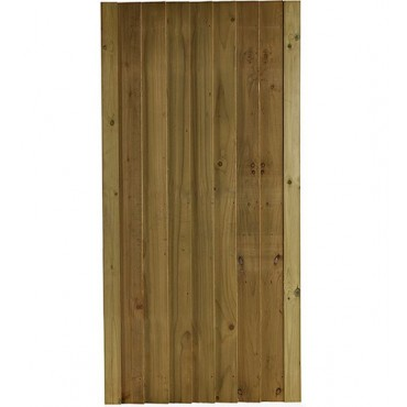 FEATHEREDGE GREEN TREATED GATE 1.76M H X .9M W (BAB50.9)
