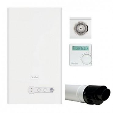 VOKERA COMPACT 29KW INC FLUE & RF CLOCK NEW ERP