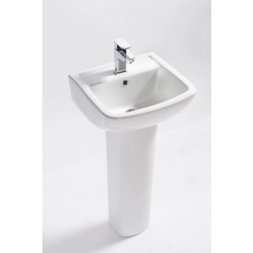 ELGIN 420MM BASIN & PEDESTAL