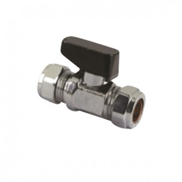 15MM PLASTIC LEVER ISOLATING VALVES