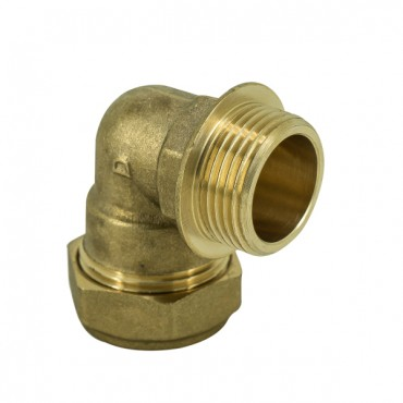 "15MM X 1/2"" COMPRESSION MALE ELBOW  C X MI"