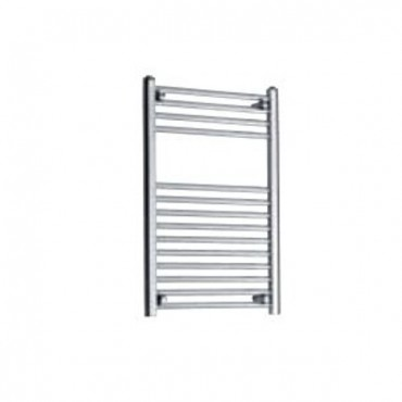 TOWEL RAIL STRAIGHT 500MM WIDE X 800MM HIGH CHROME OUTPUT 302W 1030BTU