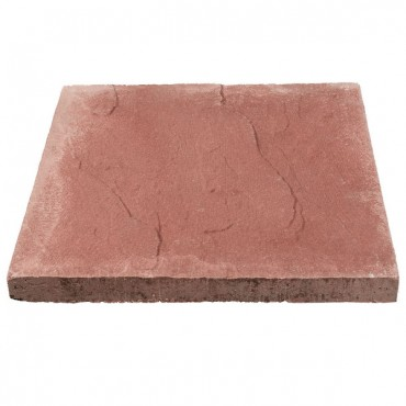 BRADSTONE RIVEN PEAK FLAG 600 X 600 X 32 RED
