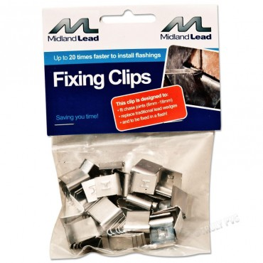 LEAD FIXING CLIPS (BAG OF 20)