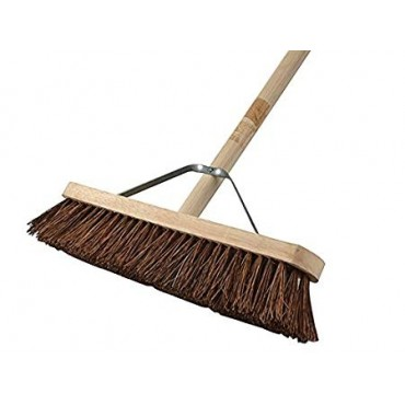 STIFF BASS BROOM 24IN (60CM) + HANDLE & STAY FAIBRBAS24H
