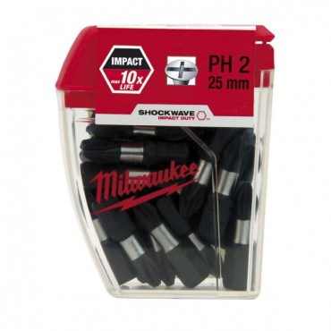 MILWKEE IMPACT RATED MATGNETIC BITS MIL430478