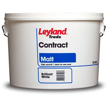 LEYLAND TRADE 10L MATT B/WHITE CONTRACT 00264565