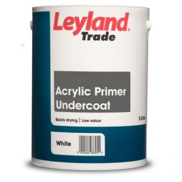 2.5LTR ACRYLIC PRIMER WHITE LEYLAND TRADE 00264365