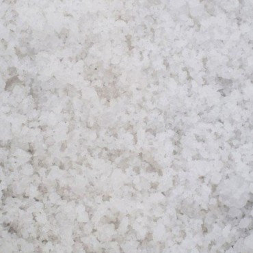 WHITE WINTER ROCK SALT