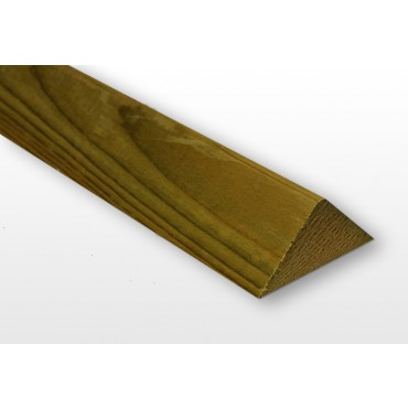 75MM X 75MM X 3.6M GREEN TREATED ARRIS RAIL FOR POST