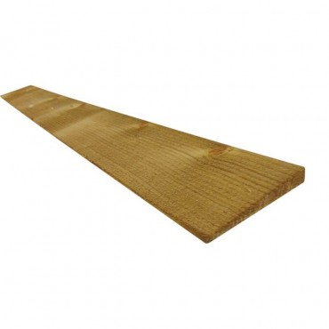 22 X 125 GREEN TREATED FEATHEREDGE BOARD