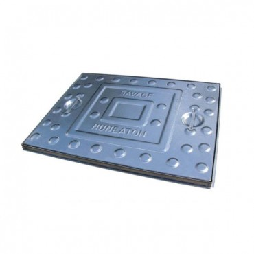 MANHOLE 5 TON 600MM X 450MM GALVANISED LID
