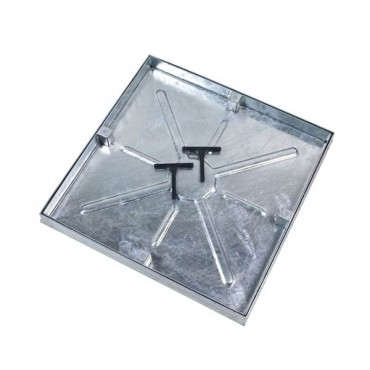 MANHOLE 450MM x 450MM REC TRAY DOUBLE SEAL COVER